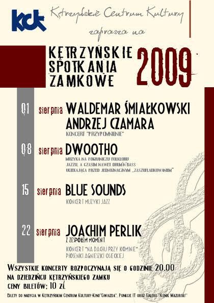 Kętrzyńskie Spotkania Zamkowe 2009