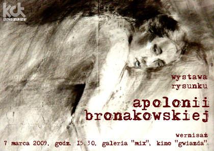 Wystawa rysunku Apolonii Bronakowskiej