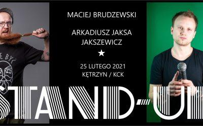 """Wraca stand-up na żywo! Zaprasza Maciej Brudzewski i Arek """"Jaksa"""" !"""