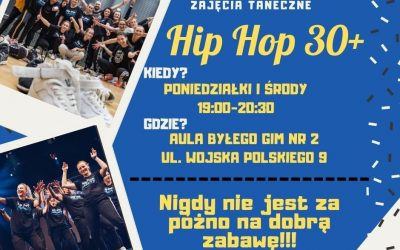 Zajęcia Hip Hop dla dorosłych?Czemu nie! – zapisz się już dziś